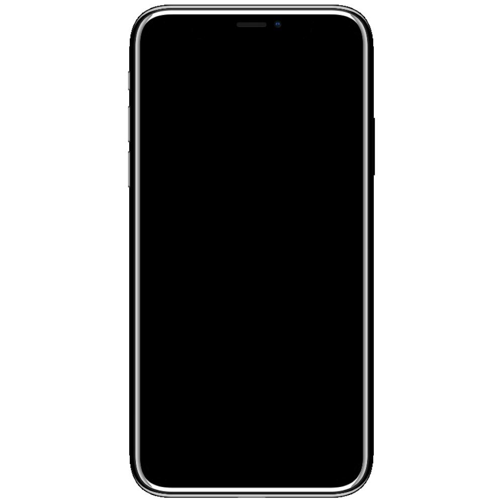 iPhone frame website mobile design